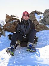 Photo: Svačinka v sedle při výstupu na Wildspitze