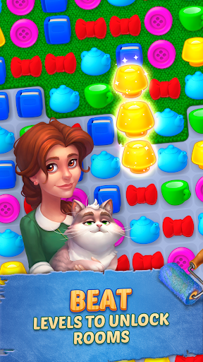 Homescapes game (apk) free download for Android/PC/Windows screenshot