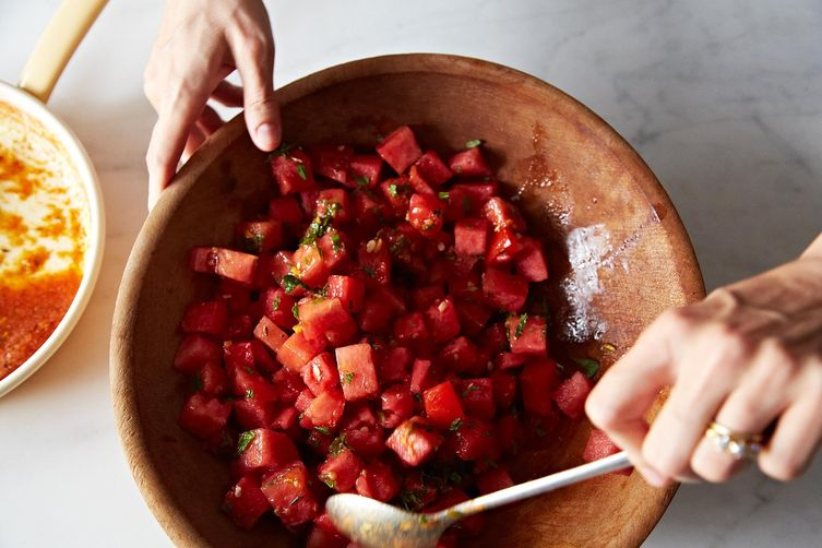Use your melon (to make this salad)