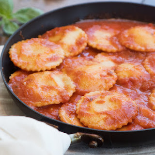 Four-Cheese Ravioli with Calabrian Chile Sauce Recipe