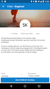 Looptijden.nl GPS hardloop-app Screenshot 3