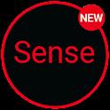 Sense Black/Red cm13 theme icon