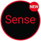 Sense Black/Red cm13 theme