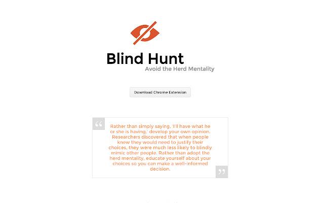 Blind Hunt