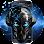 Aplikasi Blue Tech Metallic Skull Theme (apk) download gratis untuk Android/PC/Windows