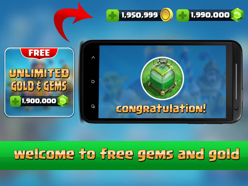 Gems Clash Royale PRANK for PC