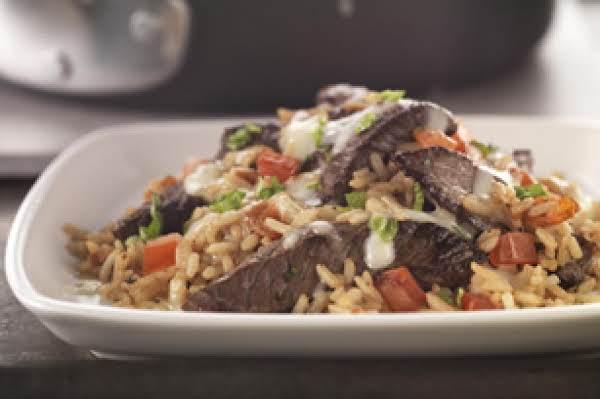 Beef Bruschetta Skillet Recipe