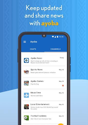 Ayoba! Free instant messaging Apk 2