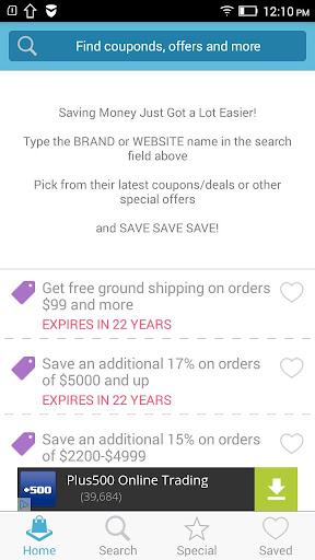 Coupons for Aliexpress