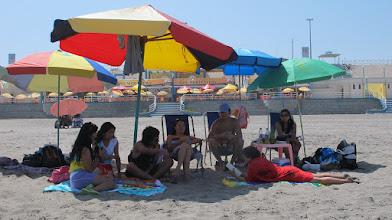 Photo: Grupo en la playa Poza de Lisas