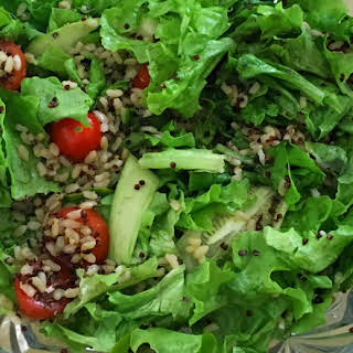 Quinoa and Brown Rice Side Salad.