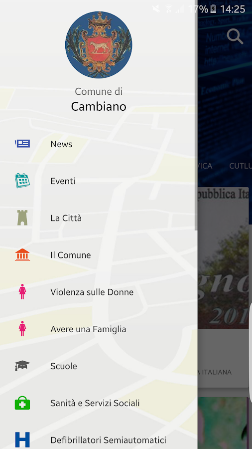 MyCambiano- screenshot