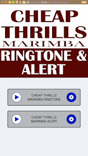 cheap thrills marimba remix ringtone download for android