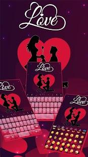 Valentine Love Keyboard screenshot