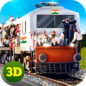 Local Indian Train Driving Sim