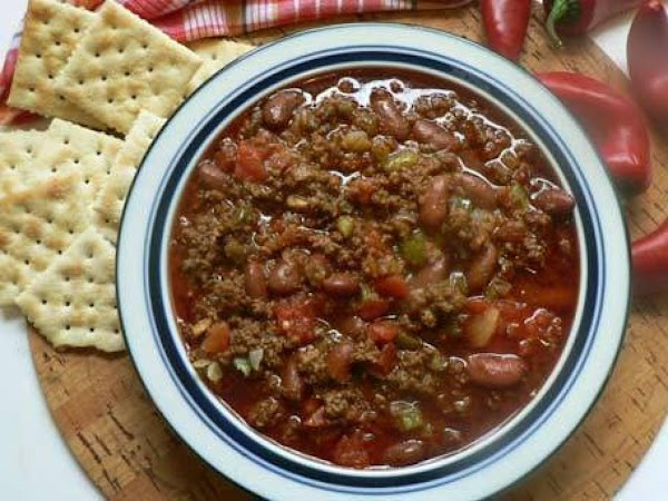 Chili Cookoff For A Crowd Recipe