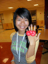 Photo: Cute balloon twisted rings by Heidi, La Verne 888-750-7024