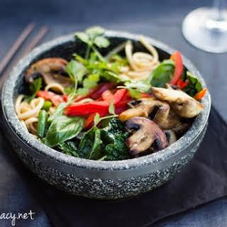 Mushroom Noodles.
