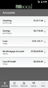 FNBsocal Mobile Banking- screenshot thumbnail