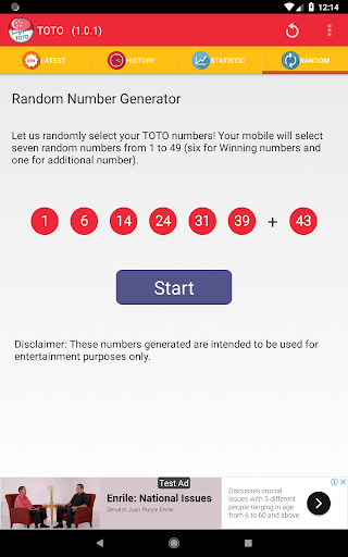 TOTO Live Result - Singapore App Report on Mobile Action - App Store
