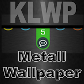 KLWP Metall Wallpaper