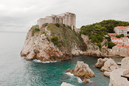 A fortress served as the first line of defense, just outside the main walls of Old Dubrovnik.
