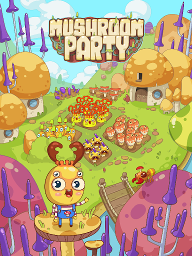 Mushroom Party  captures d'u00e9cran 1