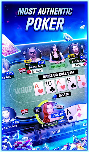 World Series of Poker u2013 WSOP Free Texas Holdem  gameplay | by HackJr.Pw 5