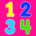 Numbers for kids - learn to count 123 games! icon