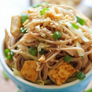 Tofu Soba Noodles.