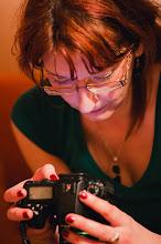 Photo: Jardova Hanka obdivující Pentax :) ...zkouška 77mm ltd...