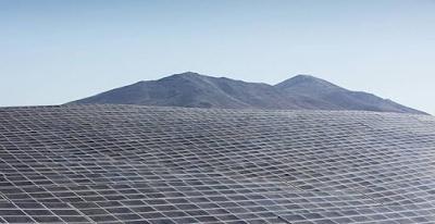 Campo de energia solar