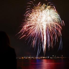 Fireworks by AsDigiClicks Photography - Landscapes Starscapes ( colorful, celebrations, beautiful, fireworks, city )