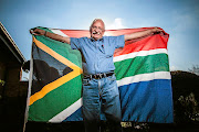 Fred Brownell, the designer of the democratic South African flag.  /Waldo Swiegers
