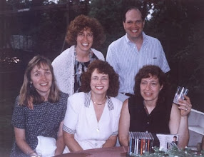 Photo: Back, Laura and Ken; Front, Claire, Barbara, Diana