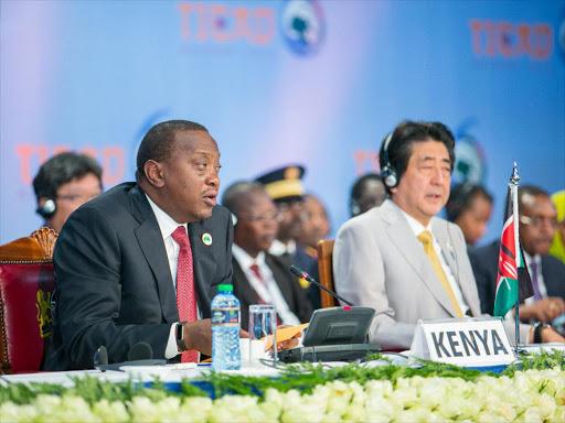 Image result for president kenyatta to japan