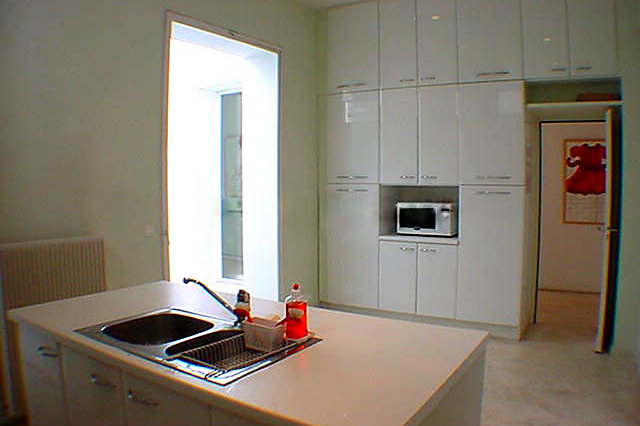 Luxury kitchen at Rue des Ursulines