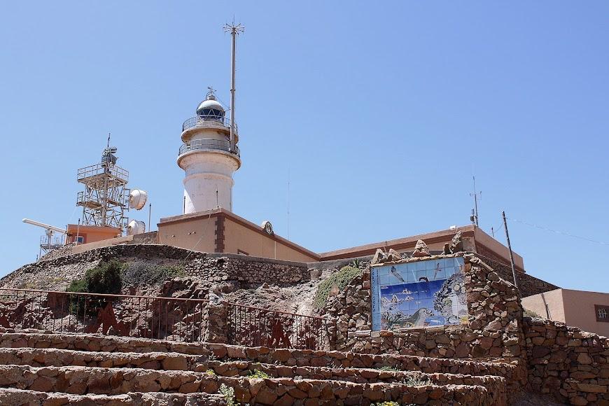 Faro del Cabo de Gata.