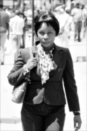 MURDER ACCUSED: Mulalo Sivhidzho in court yesterday. Pic: Antonio Muchave. 11/03/2010. © Sowetan.