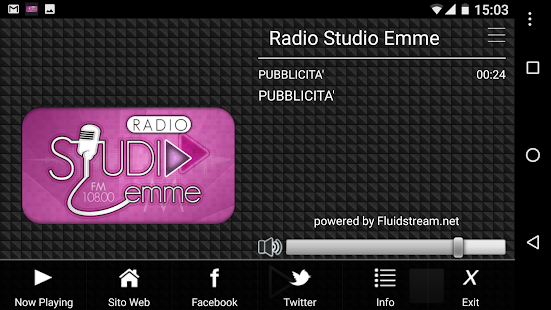 Radio Studio Emme- screenshot thumbnail