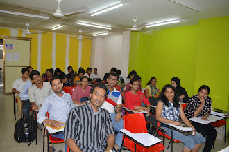 Photo: Students eager for Guest Session by IRS Ragav Gupta to begin...