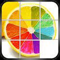 Slide Puzzle - Juicy Fruits icon