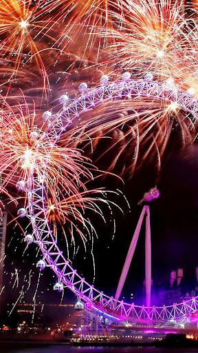 2019 Fireworks New Year Live Wallpaper 1.0 screenshots 2