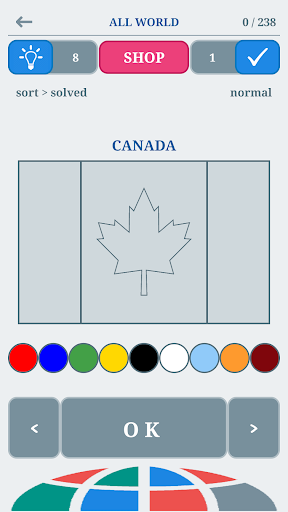 World Flags Quiz : The Flags of the World  {cheat|hack|gameplay|apk mod|resources generator} 2
