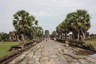 Photo: Year 2 Day 44 - Looking Back Up the Path to the Outer Wall of Angkor Wat