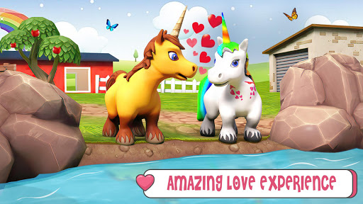 Baby Unicorn Wild Life: Pony Horse Simulator Games modavailable screenshots 4