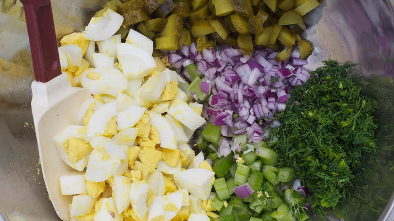 Egg Salad Recipe Pickles