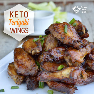Keto Teriyaki Wings.