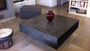 kit complet b ton cir pour relooker sa table basse. Black Bedroom Furniture Sets. Home Design Ideas