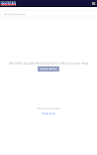 Parts Europe Inventory Search- screenshot thumbnail